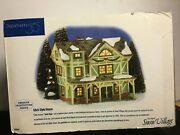 Department 56 Snow Village Stick Style House American Architecture Series 54943