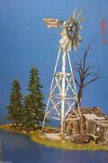 Department 56 Snow Village Buck's County Windmill By The Chicken Coop 52867