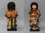 Antique Japanese Ichimatsu Doll Japanese Doll Early Showa Period 17.3 In Japan Y