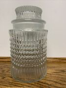 Vintage Apothecary Jar Candy Glass Jar Pharmacy Drugstore Canister 9