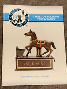 Cyber Toy Auctions Catalog Antique Mechanical And Still Banks/wind Up Tin Toys