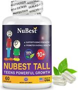 Nubest Tall 10+ Growth Boots Supplement For Chilren 10+ And Teens - Who Drink Milk