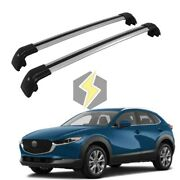 Pair Cross Bar For Mazda Cx30 Cx-30 2020 2021 Cargo Roof Rack Carrier Durable