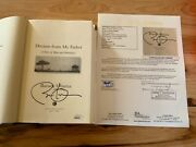 Dreams From My Father Hardcover Book Signed By President Barack Obama Jsa Letter
