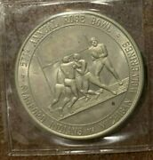 47th 1972 Rose Bowl Sports Medal Coin Stanford Indians Michigan Wolverines