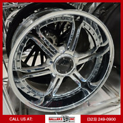 24x10 Gianelle 6x139.7 Wheel And Tire Package Chrome
