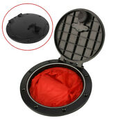 8 Round Hatch Cover Deck Plate W Screw Storage Bag For Boat Kayak Canoe Marine