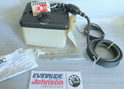 Aa1 Evinrude Omc 176995 Oil Tank Kit Assembly 1.8 Gal. Oem New Factory Boat Part