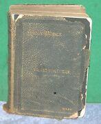 Vintage Holy Bible 1890 - Translated Out Of The Original Tongues