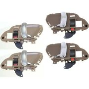 Interior Door Handle Front And Rear Left-and-right For Chevy Suburban Lh Rh Tahoe