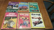 Huge Lot Of 14 1950's Antique Automobile Classic Car Collector Books Sports