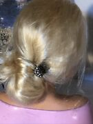 Barbie Large Mannequin Head Swivels 12andrdquoh 10andrdquo W Used Defects Dings And Scratches