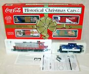 K-line K-1119 027 Scale Coca Cola Christmas Holiday Diesel And Freight Train Set