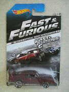 And03969 Dodge Charger 8/8 Fast And And Furious Official Movie Car Hot Wheels Moc