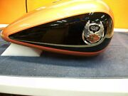 Harley-davidson 2008 Deluxe 105th Fuel / Gas Tank Copper Pearl And Vivid Black