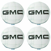 4 Pcs Gmc Chrome Center Caps 14-19 Sierra Limited And Yukon + Xl 20 22 Wheels