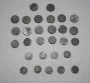 Lot Of 29 German Ww11 Coins