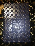 Waterstones Rune Edition - The Lost Book Of The White - Clare - Stamp Signed