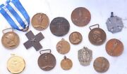 Italy - World War I Medal Cross Beautiful Medallions Military Army Wwi Lot