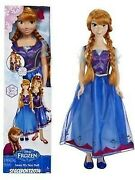 2014 Disney Frozen Anna My Size Doll New Over 3ft Tall 38