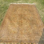 Yilong 5and039x8and039 Golden Silk Rugs Hand Knotted Antique Carpet Fpyer Handmade 1000