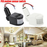 180°rotation Led Security Pir Infrared Motion Sensor Detector Switch Wall Light