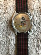 Salevintage 1973and039s Seiko Disney Time Watch 5000-7000 Jewels Hand Winding Rare