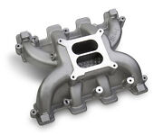 Holley Midrise Intake Manifold Gm Ls1 Ls2 Ls6 Cathedral Port Head Heads 300-130