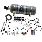 Nitrous Express 20224-12 Gm Efi Dual Stage 50-150hp X 2 With Composite Bottle