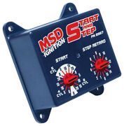 Msd Ignition 8987 Timing Controller - Electronic Start And Step Timing Control