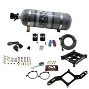 Nitrous Express 640-12 41 Single Entry Crossbar Plate System Pro Power Composit