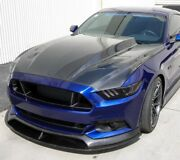 2015-2017 Ford Mustang Double Sided Carbon Fiber 3in Cowl Hood Ac-hd15fdmu-cj-ds