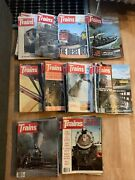 Lot Of 70 1970-1979 Trains Magazines Lot Back Issues
