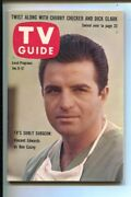 Tv Guide 1/6/1962-ben Casey-vincent Edwards Cover And Story -illinois Edition-n...