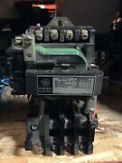 Ge General Electric Size 1 Motor Starter 120v Coil 10hp 27a 3ph Cr208c100daa