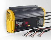 12v Battery Charger Station Bank For Boat Marine 24v 3 Port Compact Waterproof A
