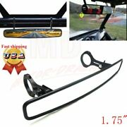 New Utv Wide 15 Rear View Mirrors 1.75 Clamp For Polaris Rzr 800 1000 Xp 900 S