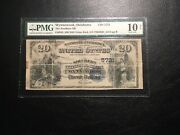 National Bank Note Wynnwood Oklahoma Pmg10 Net 7 Large. Only Value Back Known