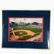Fenway Park Green Monster Wall Boston Photo Print The Red Sox Game 440 Signed