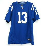 New Nike Kids Youth Football Indianapolis Colt Ty Hilton 3 Jersey Shirt Size Xl