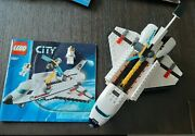Lego City 3367 And 60078 Space Shuttle W/ Manual And Minifigure
