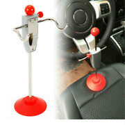 Diy 14.5and039and039car Alignment Rack Steering Wheel Holder Stand Lock System Garage Tool