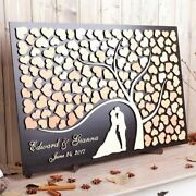 Weddings 3d Guest Books Personalize Alternative Woods Heart Tree Life Rustic New