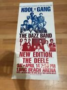 Kool And The Gang Dazz Band New Edition Long Beach Concert Poster