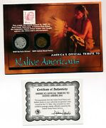 Americaand039s Official Tribute To Native Americans Red Cloud Stamp Indian Head And Buf