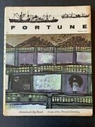 Fortune Magazine October 1961 1960and039s Lifestyle Business Tech
