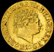 King George The Iii 1820 Gold Sovereign....