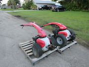 2 Gravely Rapid-m 9-hp Robin Gas Powered 2-wheel Tractor S