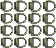 16 5/8d Ring Weld On Tie Down Flatbed Truck Trailer Chain Straps Rope D Rings