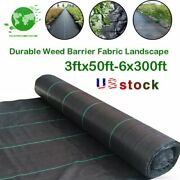 Durable Weed Barrier Landscape Fabric 3.2oz Pp Woven Ground Cover Chemical-free